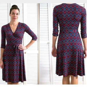 LEOTA Stitch Fix Darrah Chain Wrap Career Dress